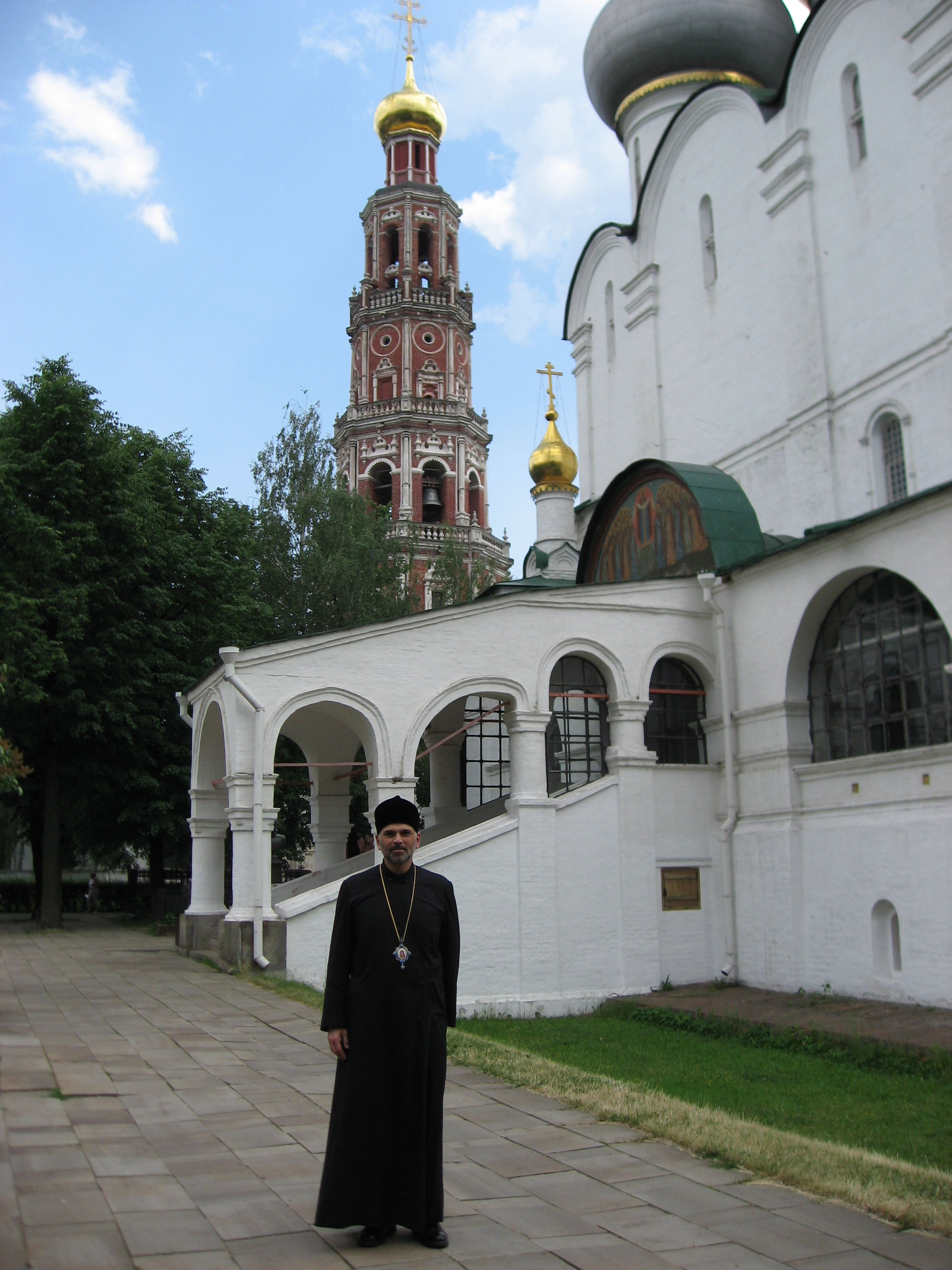 At the Novodevichy Convent