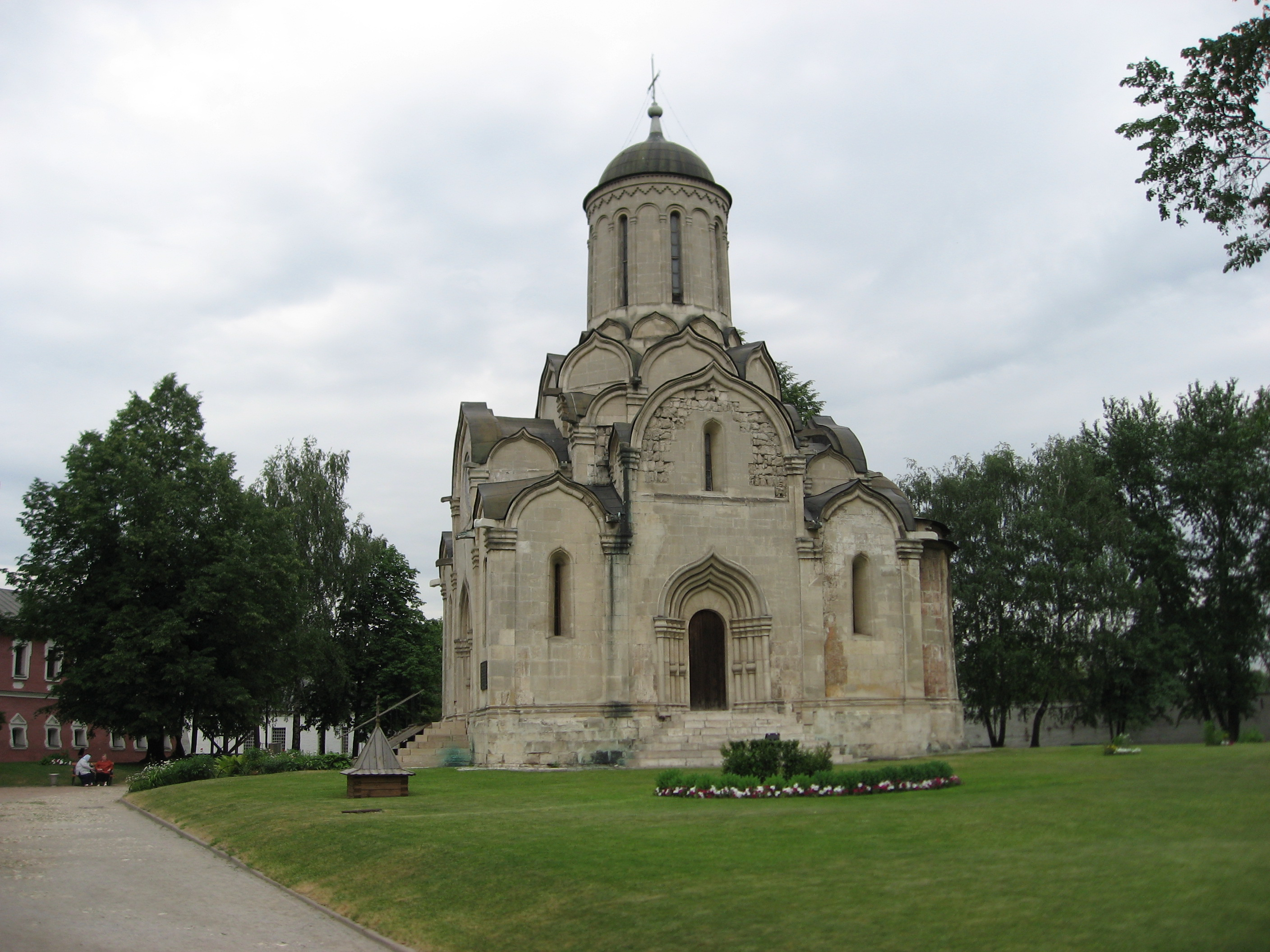 Main church at the Spaso-Andronikov Monastery said to be designed by St. Andrey Rublov