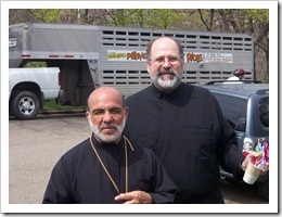 Bishop Thomas and Fr. John Abdalah