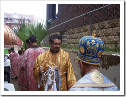 Deacon Andrew Cross, Sayidna and procession