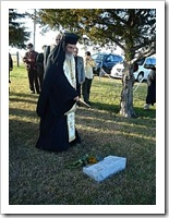 Blessing of Kh. Martha Yanney's Grave