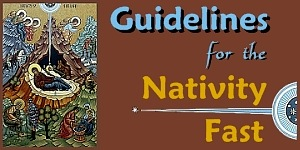 Guidelines for the Nativity Fast