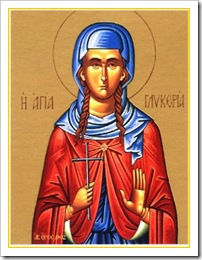 Virgin Martyr Glyceria