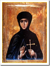 St. Theodosia of Constantinople