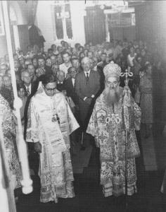 Serving in Brazil with Patriarch Elias IV, Paschal Season 1978