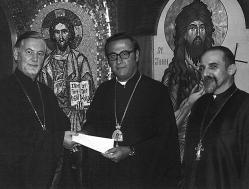 Fr. Alexander Schmemann, Metropolitan Philip, and Fr. Cyril Stavrevsky