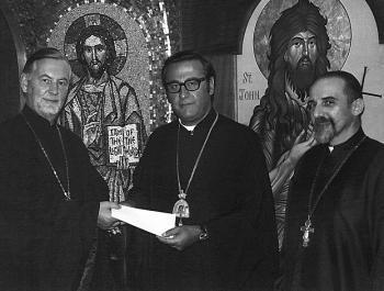 With Fr. Alexander Schmemann