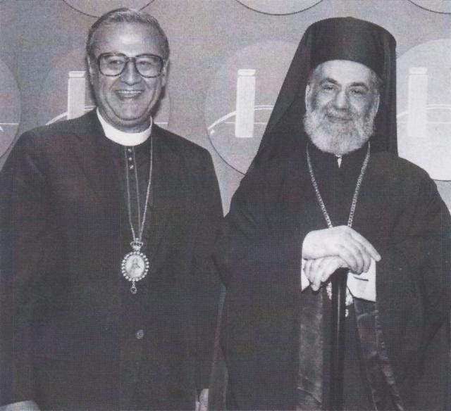 With His Beatitude Patriarch Ignatius IV of Antioch