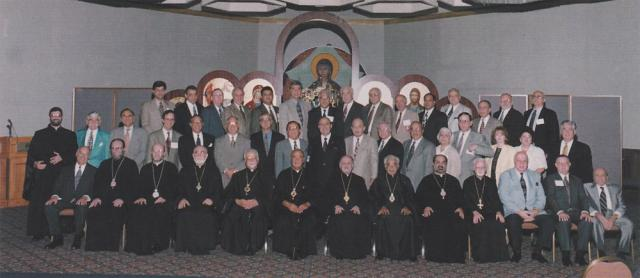 With all the Hierarchs of the Americas and the Archdiocesan Board of Trustees