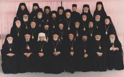 At the Meeting of Orthodox Bishops in Ligonier, PA, 1994