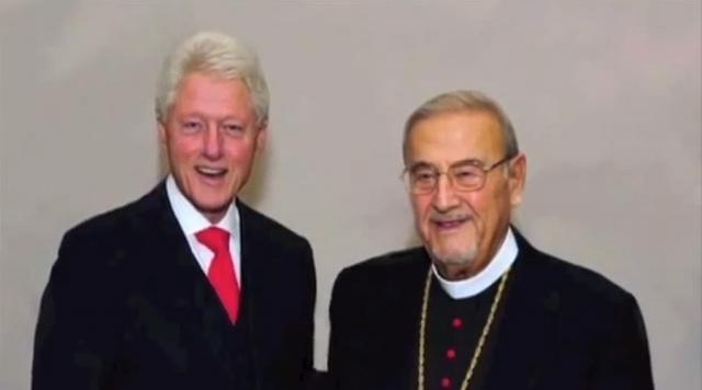 With President William Jefferson Clinton