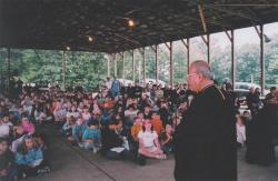 Vespers at Antiochian Village Camp