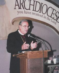 Addressing the Task Force to Support Jerusalem, 1995