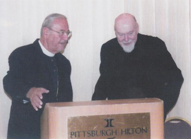 With Fr. Paul Schneirla, Vicar General of the Western Rite Vicariate