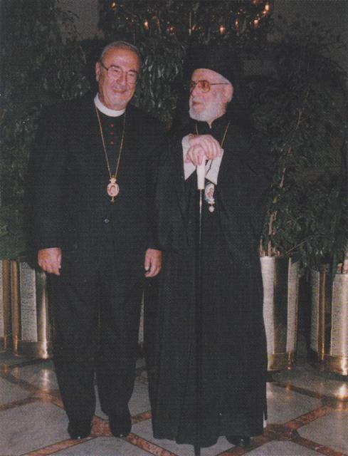 With His Beatitude Patriarch Ignatius IV