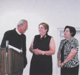 With Antiochian Women Presidents Marilyn Robat and Laila Ferris