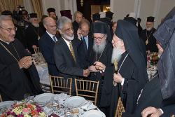With Ecumenical Patriarch Bartholomew in 2009