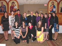 With Teen SOYO at the 2011 Midwest Parish Life Conference