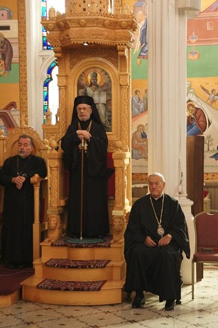 Liturgy with Patriarch Ignatius IV in 2012