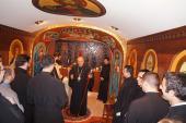 Hosting Annual Dinner for Antiochian Seminarians