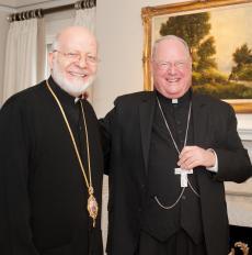 Metropolitan Joseph Hosts Cardinal Dolan, 01.23.17