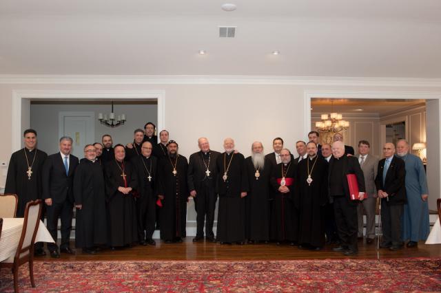 Metropolitan Joseph Hosts Cardinal Dolan 01.23.17