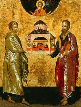 Ss. Peter and Paul: Having the Rock of Faith Holding Up the Church