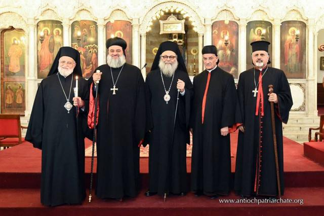 Five Middle East Patriarchs, June 2015