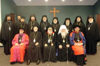 Dignitaries who gathered to honor Patriarch John