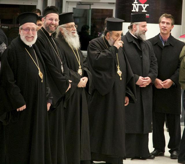 New York arrival of Patriarch John X
