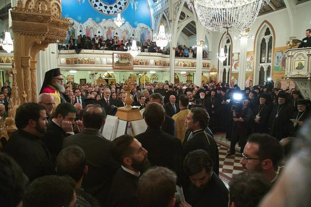 The Cathedral was filled to overflowing at all the Enthronement services