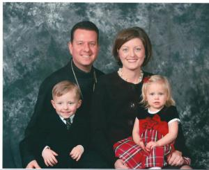 Fr. Michael Ellis and family