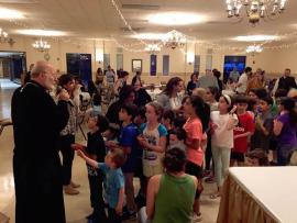 The youth of St. George with Metropolitan Joseph, April 29, 2017