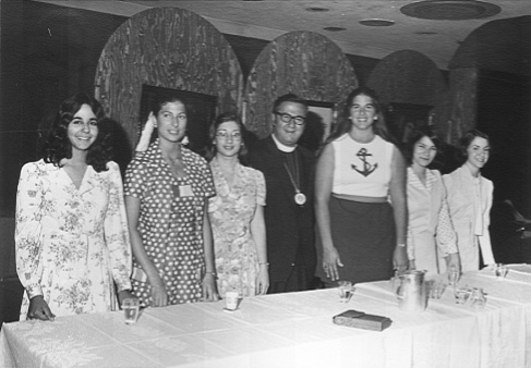 With Archdiocese Oratorical Participants, 1974