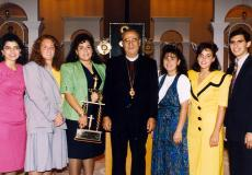Archdiocese Oratorical Participants 1991