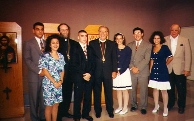 Archdiocese Oratorical Participants 1992