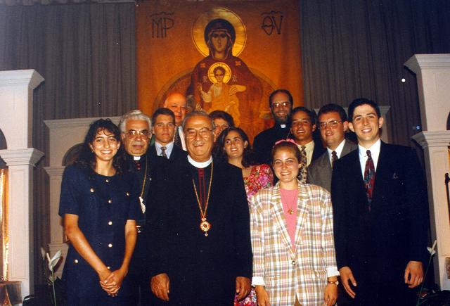 Archdiocese Oratorical Participants 1993