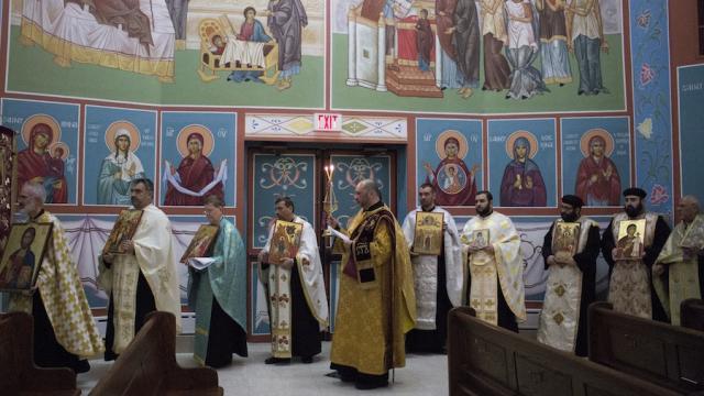 2016 Sunday of Orthodoxy at St. Elias Cathedral, Ottawa