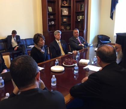 Capitol Hill meeting with Congresswoman Anna Eshoo and Congressman Jeff Fortenberry
