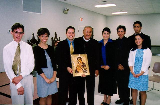 Archdiocese Oratorical Participants 2002