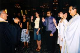 NAC Teen SOYO Installation of Officers 2003