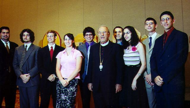 Archdiocese Oratorical Participants 2004