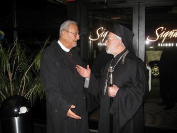 Patriarch Ignatius and Metropolitan Philip