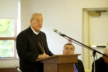 2012 Archdiocese Board Meeting: His Eminence