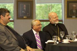 Banquet: Michael Srour, Dan Abraham, His Eminence Archbishop Joseph