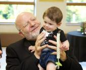 Banquet: Archbishop Joseph with Young Fan