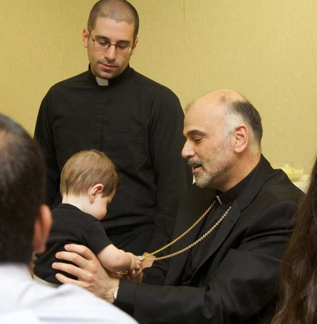 Banquet: Bishop Alexander with Young Fan