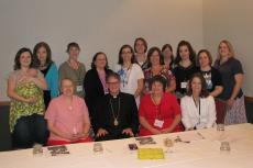 Bishop Anthony with the Midwest Clergy Wives