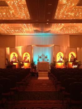The beautiful chapel awaiting the PLC participants