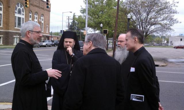 Bishop Nicholas at CCT walk, Birmingham, 2013